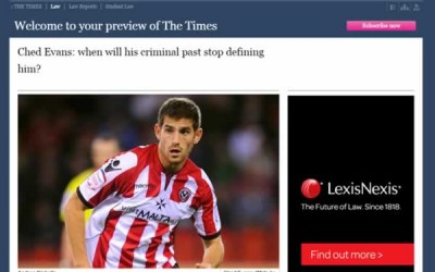 Ched Evans: When will his criminal past stop defining him?