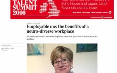 Employable me: the benefits of a neuro-diverse workplace