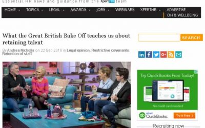 What the Great British Bake Off teaches us about retaining talent
