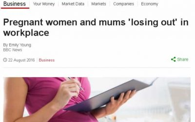 """Pregnant women and mums """"losing out"""" in the workplace"""